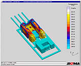 Sigmasoft 3D Flow Simulation Software