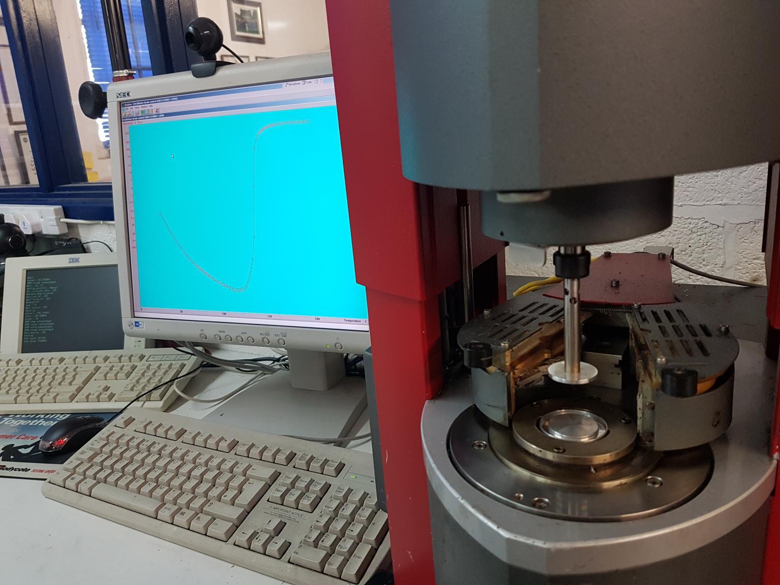Gammadot Rheology Operational Status